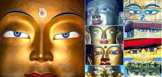 reprezentarea lui Buddha
