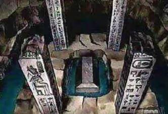 mormantul lui Osiris