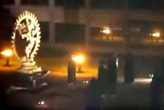 ritual satanic CERN