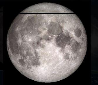 Câteva linii negre ciudate au fost observate pe Lună! Ca şi cum cineva ne scana satelitul nostru...