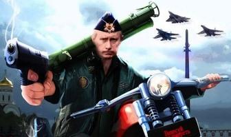 Putin razboinic