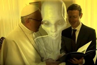 papa Zuckerberg extraterestri