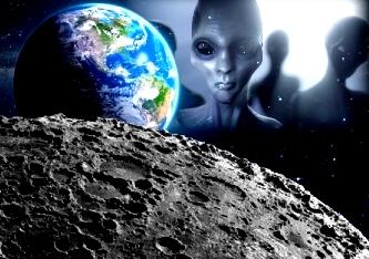 O ipoteză halucinantă: Luna a fost adusă de extratereştri, dintr-un sistem solar îndepărtat lângă Pământ, în urmă cu 11.000 de ani! Ruşii şi americanii şi-au făcut cruce ce-au găsit iniţial pe Lună...