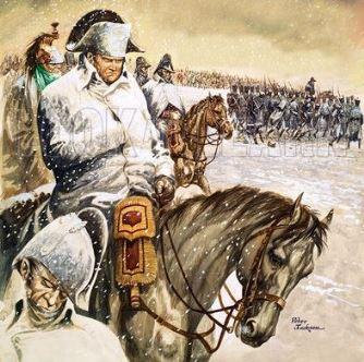 Gigantica armată a lui Napoleon a fost zdrobită în Rusia de către... păduchi!