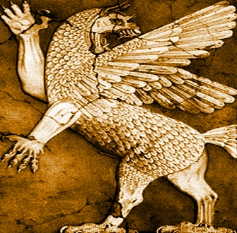 Incredibila poveste a zeului babilonian malefic Anzu, creatura extraterestră cu cap de leu şi aripi de pasăre