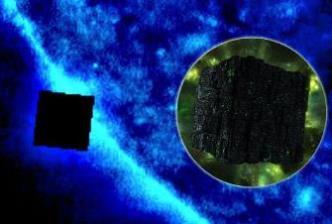 Înainte de Crăciun, un cub imens negru a fost văzut lângă Soare