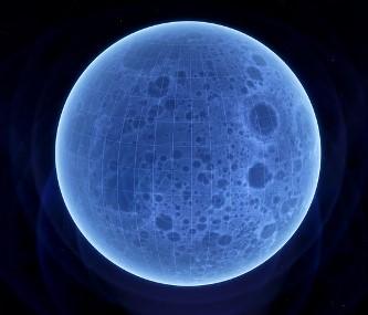 """""""Luna este o hologramă atunci când se află în stadiul de Lună plină sau în ultimul pătrar"""" - asta spune o teorie revoluţionară"""