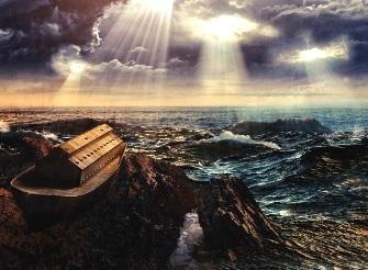 """Cum un mare matematician englez, prieten cu Newton, şi-a dat seama că o cometă, ce trece pe lângă Terra o dată la 575 de ani, a provocat """"potopul lui Noe"""" din Biblie"""
