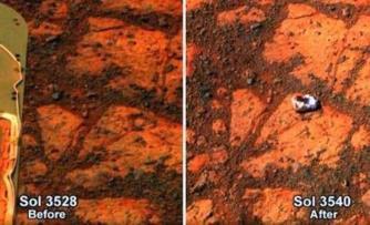 Misterioasa piatră care a apărut din senin pe Marte şi care i-a uluit pe cercetătorii NASA