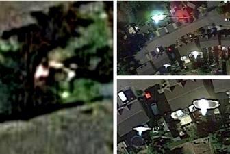 O posibilă răpire extraterestră a fost surprinsă de Google Earth pe imaginile de pe satelit