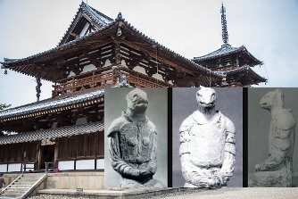 O statuie a unui reptilian a fost îndepărtată dintr-un templu din Japonia şi ascunsă de ochii publicului... De ce?