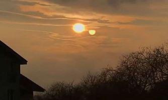 Un al doilea Soare a fost surprins de două ori deasupra Bratislavei, capitala Slovaciei... coincidenţă?