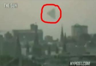 O mare enigmă: un OZN gigantic, de tip piramidă, a fost observat deasupra Moscovei, în aceeaşi zi în care ruşii au testat o rachetă balistică intercontinentală. Există vreo legătură?