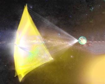 Putem călători până la cea mai apropiată stea, Proxima Centauri, în doar 20 de ani, cu ajutorul laserului! Dar cum reuşim să frânăm sonda spaţială minusculă?