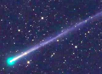 O cometă verde şi misterioasă trece pe lângă noi