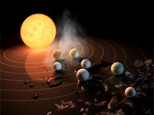 """""""Marea descoperire"""" NASA: 7 exoplanete asemănătoare Pământului, situate la 40 de ani-lumină, pe care s-ar putea găsi viaţa. Dar planeta X, care se află la doar 0,003 ani-lumină, când o descoperi NASA?"""
