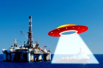 Un martor credibil a văzut un OZN gigantic care a ieşit din ocean, fiind de 5 ori mai mare decât o navă maritimă