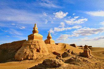 O străveche civilizaţie măreaţă şi enigmatică se află situată în Deşertul Gobi... cine era ea?