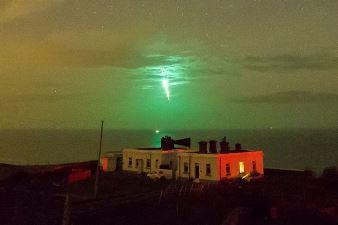 Un astronom egiptean surprinde pe cerul nopţii o nebuloasă verde stranie, de origine necunoscută