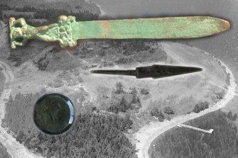 O sabie romană veche de 1800 de ani a fost găsită în Canada! Cine a descoperit de fapt America? Ar trebui rescrisă istoria?
