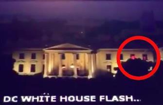 O lumină roşie misterioasă a fost văzută în interiorul Casei Albe, sediul preşedintelui SUA. Ce experimente secrete se fac acolo?
