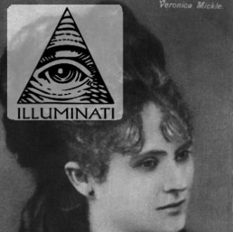 """EXCLUSIV! Veronica Micle şi poezia ei în care face referire la """"ochiul în piramidă"""", simbolul Illuminati"""