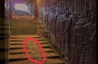 Vechiul Egipt a avut parte de un război nuclear? Urme topite au fost găsite în străvechiul templu de la Dendera!