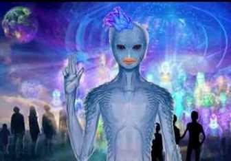 EXCLUSIV! A existat în trecut o rasă de umanoizi albaştri care a trăit pe legendarul continent Mu?