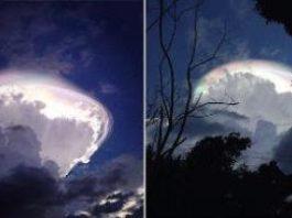 """Unii oameni au crezut că a venit """"Judecata de Apoi"""" atunci când au văzut în Costa Rica un nor incredibil, parcă din altă lume..."""