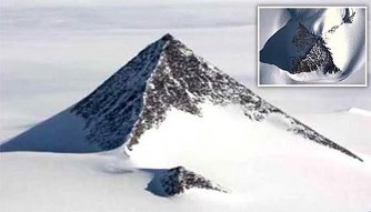 Încă o misterioasă piramidă de gheaţă, descoperită în Antarctica, ar putea rescrie istoria omenirii