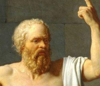 Ce-a făcut măreţul filozof Socrate după ce-a primit o găleată de apă în cap de la soţia lui...