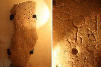 """Misterul """"Stelei din Montoro"""", artefactul gravat cu simboluri stranii, pe care experţii nu le pot citi"""