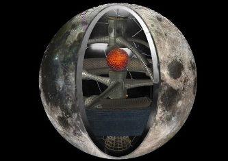 """EXCLUSIV! O lucrare ştiinţifică şochează: """"Luna este o navă spaţială, creată de extratereştri avansaţi, în adâncurile Universului"""""""