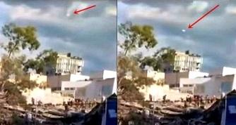 OZN-urile apar după cutremurul devastator din Mexic... Cine ne supraveghează dezastrele şi de ce!?
