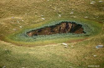 Misterioasa gaură din Munţii Făgăraş... Unde duce ea!?