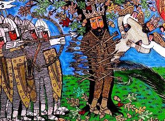 Englezii au avut un rege legendar, Sf. Edmund Martirul, care se pare că deţinea puteri miraculoase după moarte
