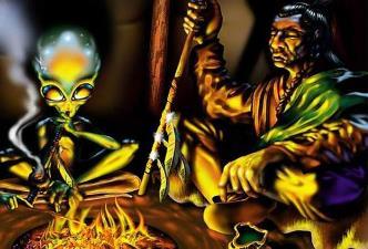 """Incredibilele povestiri ale indienilor nativi din America despre """"fiinţele din stele"""""""
