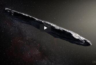Ia ghiciţi: primul vizitator cosmic cunoscut, din afara sistemului nostru solar, are o formă bizară, de trabuc, asemenea unui OZN