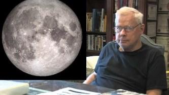 Un fost pilot CIA şochează: Luna are 250 de milioane de locuitori! Nu putem vedea ce e pe Lună din cauza unor tehnologii holografice avansate...