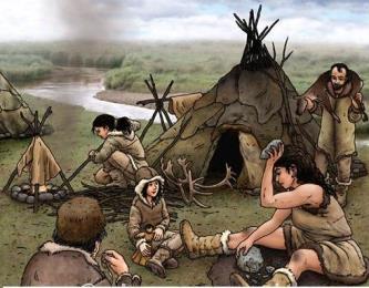 6 minciuni învăţate la şcoală despre oamenii preistorici - ei nu locuiau în grote, cunoşteau scrisul şi se îmbrăcau ca noi