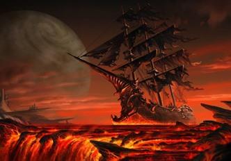 Cum un rege britanic s-a întâlnit cu o navă-fantomă, având parte de cea mai înfricoşătoare experienţă din viaţa sa