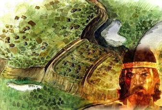 Misteriosul palat al regelui Burebista de la Argedava, aflat foarte aproape de Bucureşti