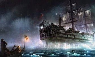Misterul lui Octavius: căpitanul acestei nave-fantomă a fost descoperit în cabină, complet îngheţat, cu stiloul în mână