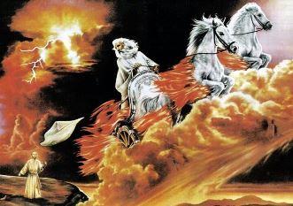 """EXCLUSIV! O enigmă biblică: """"înălţarea la ceruri"""" a profeţilor Ilie şi Enoh are la bază principii fizice nedescoperite de Einstein?"""