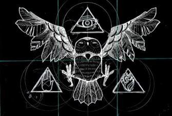 Bufniţa, simbolul ocult venerat de Elita Mondială - 3 fotografii ilustrative şi incredibile care spun totul