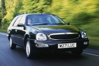 Faceţi cunoştinţă cu una dintre cele mai urâte maşini din lume: Ford Scorpio, generaţia a 2-a