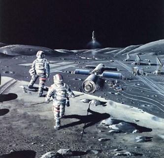 Cel mai probabil, americanii au baze secrete militare pe Lună. Iată dovezile...