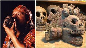 Fluierul aztec al morţii: sună groaznic, ca o mie de suflete torturate