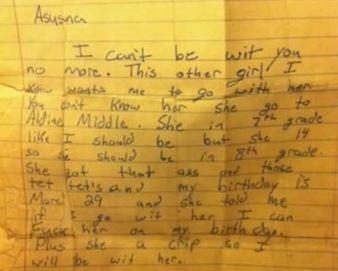 """""""Dragă Asusna, am cunoscut o fată cu care vreau să mă culc!"""" Cea mai tare scrisoare de despărţire din lume"""