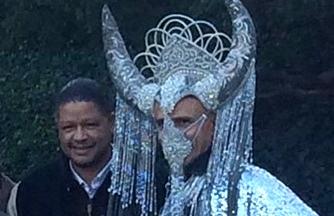 O imagine care îl arată pe Barack Obama îmbrăcat într-un costum satanic, a devenit virală pe Internet